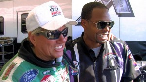 Brian Olatunji & John Force